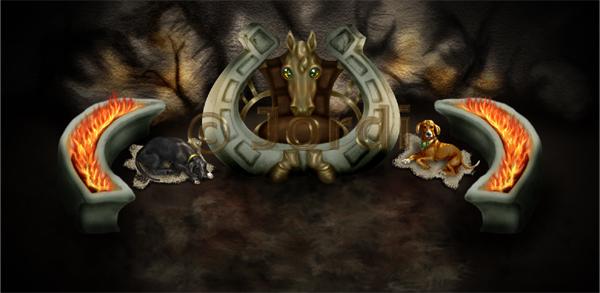 Krajina: Cave Throne Room : Jeskynní trůnní sál
