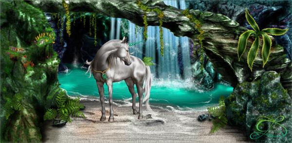 Krajina: Turquoise River : Tyrkysová řeka