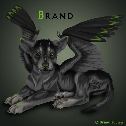 vlče: Brand