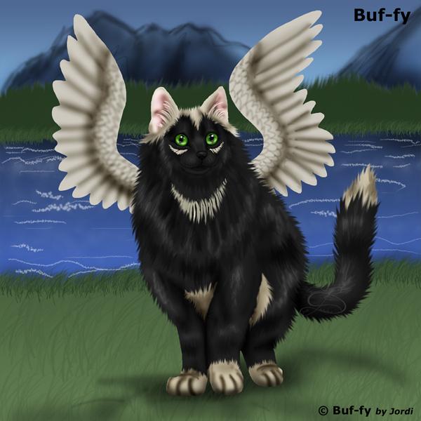 kočka: Buf-fy