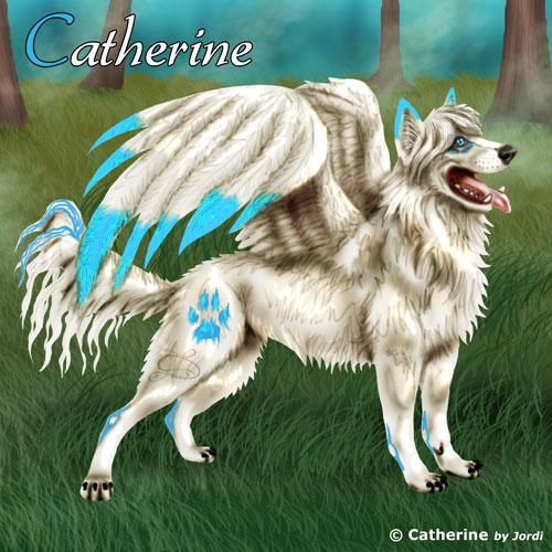 vlčice: Catherine