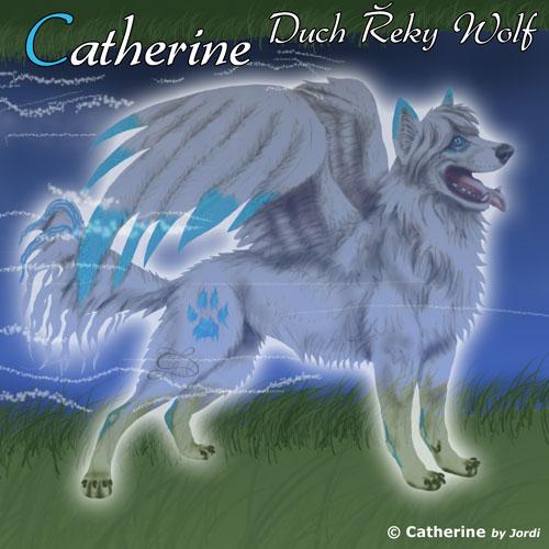 vlčice: Catherine duch